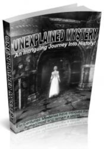 unexplained mysteries e-book