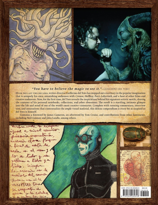 First Additional product image for - Guillermo del Toro Cabinet of Curiosities: My Notebooks, Collections, and Other Obsessions