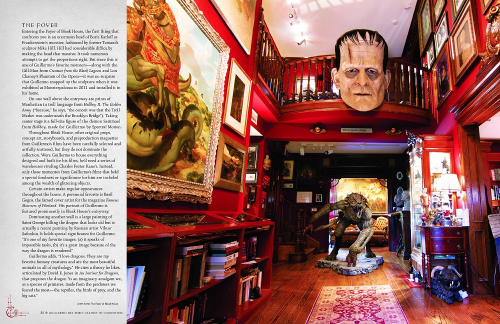 Fourth Additional product image for - Guillermo del Toro Cabinet of Curiosities: My Notebooks, Collections, and Other Obsessions
