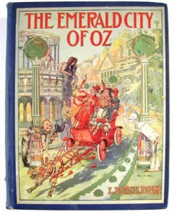 l. frank baum -  the emerald city of oz