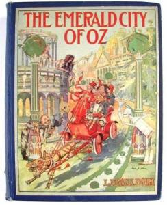l. frank baum -  the emerald city of oz
