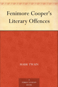 fenimore cooper's literary offences - mark twain