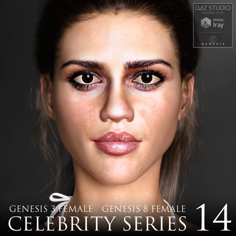 Celebrity Series 14 for Genesis 3 and Genesis 8 Female