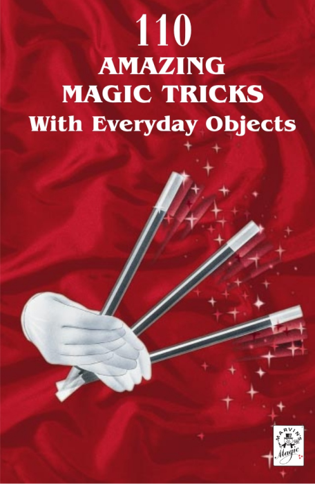 First Additional product image for - Marvin's Magic: 110 Amazing Magic Tricks With Everyday Objects