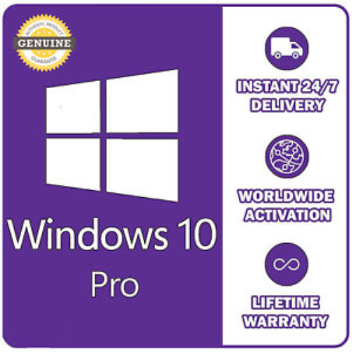 First Additional product image for - Genuine Microsoft Windows 10 Pro 32/64 Bit Full Version + Fast Delivery