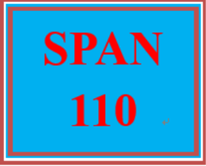 span 110 week 2 cultural comparison