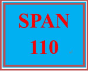 SPAN 110 Week 4 Cultural Comparison | eBooks | Education