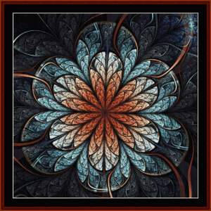 Fractal 677 cross stitch pattern by Cross Stitch Collectibles | Crafting | Cross-Stitch | Wall Hangings