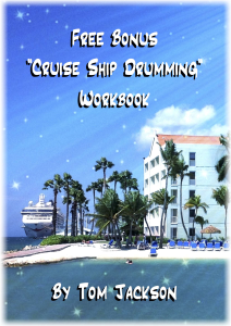 free bonus cruise ship drumming workbook