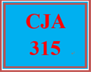 CJA 315 Week 4 Eyewitness Evidence Executive Summary | eBooks | Education