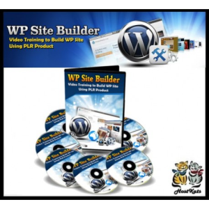 wordpress site builder 17 plr video training set