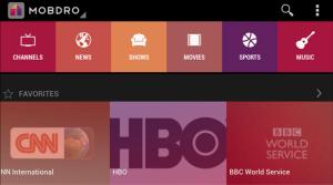 Mobdro live tv no ads | Software | Mobile