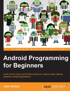 Android programming for beginners | eBooks | Education