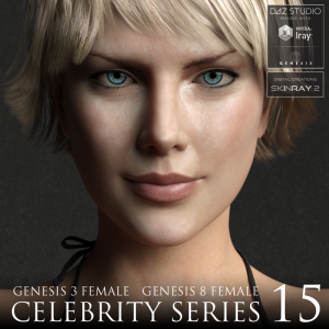 Celebrity Series 15 for Genesis 3 and Genesis 8 Female | Software | Design