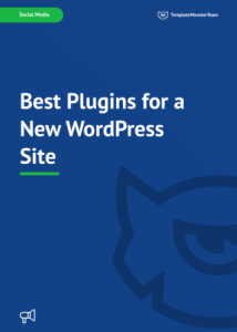Best Plugins for a New WordPress Site | eBooks | Computers