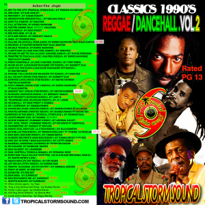 tropical storm soundsystem intl reggae street demo 2 -1990s classics (digital)
