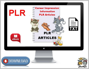 career impression information plr articles