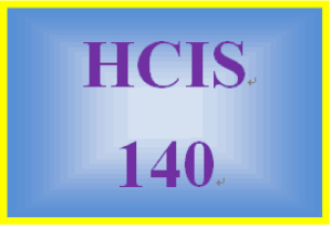HCIS 140 Week 3 Electronic Health Care Resources (1) | eBooks | Education
