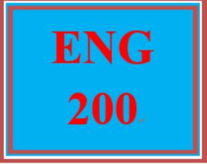 eng 200 week 1 topic selection worksheet
