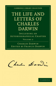 the life and letters of   charles darwin,   volume ii