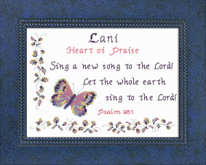 Name Blessings -  Lani | Crafting | Cross-Stitch | Other