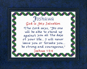 Name Blessings -  Joshawa | Crafting | Cross-Stitch | Other