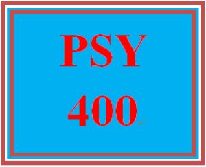 psy 400 week 4 conflict program proposal
