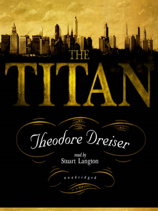 First Additional product image for - THE TITAN  by Theodore Dreiser