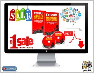 Forum Marketing Basics Ecourse 2018 | eBooks | Business and Money