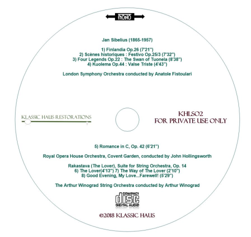 Third Additional product image for - Sibelius Masterpieces