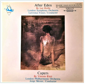 hoiby: after eden ballet suite; rieti: capers ballet music