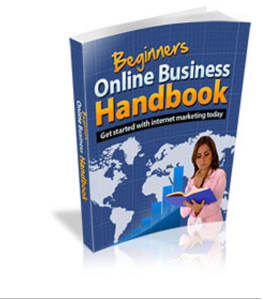 beginners online business handbook