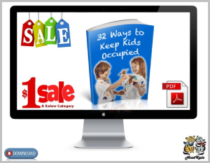 32 Ways to Keep the Kids Occupied | eBooks | Reference