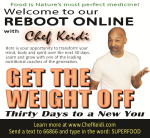 reboot online with chef keidi - 30-days to a new you