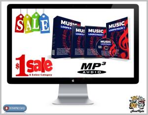 25 royalty free music loops pack 1