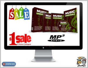 25 royalty free music loops pack 2