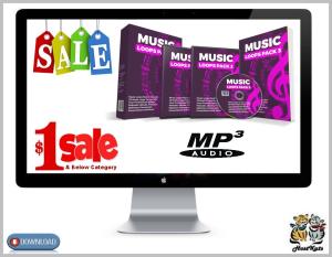 25 royalty free music loops pack 3