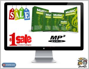 25 royalty free music loops pack 4