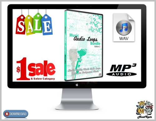 Second Additional product image for - 40 Royalty Free Music Audio Loops Edition 2