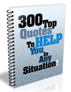 300 top quotes to help you in any situation ebook