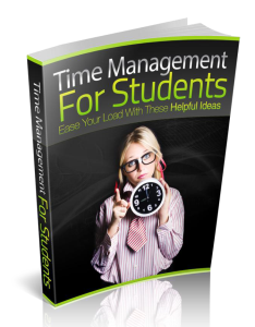 time management for students ebook