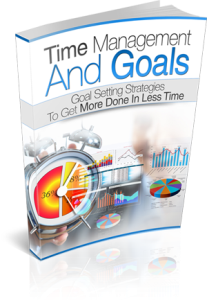 Time Management And Goals eBook | eBooks | Self Help