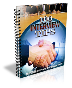 100 interview tips ebook