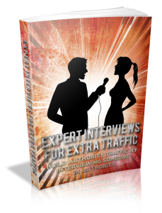 Expert Interviews for Extra Traffic | eBooks | Business and Money