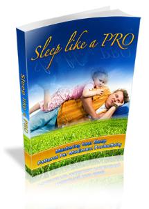 sleep like a pro ebook