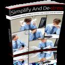 Simplify And Destress eBook   eBooks   Self Help