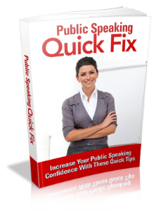 Public Speaking Quick Fix | eBooks | Self Help