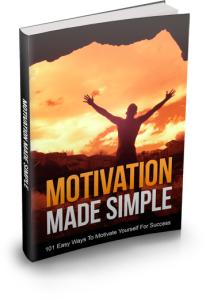 Motivation Made Simple   eBooks   Self Help