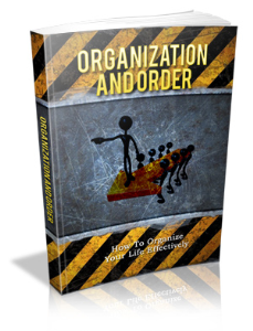 organization and order