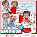 """Patience Doll Wardrobe (Tonner 14"""") 